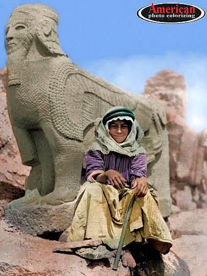 1899 - Tell Halaf, Syria